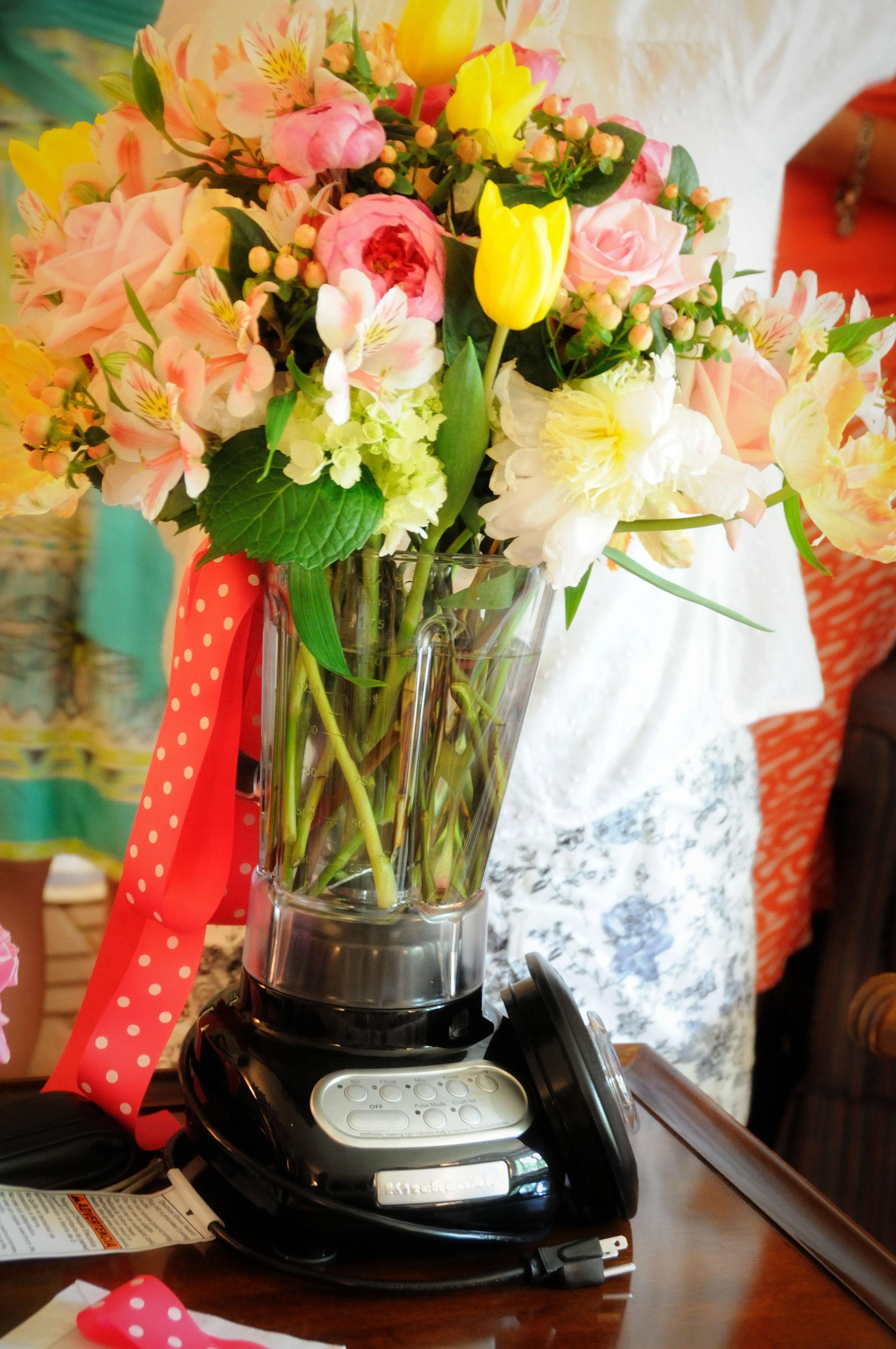 Blender Vase