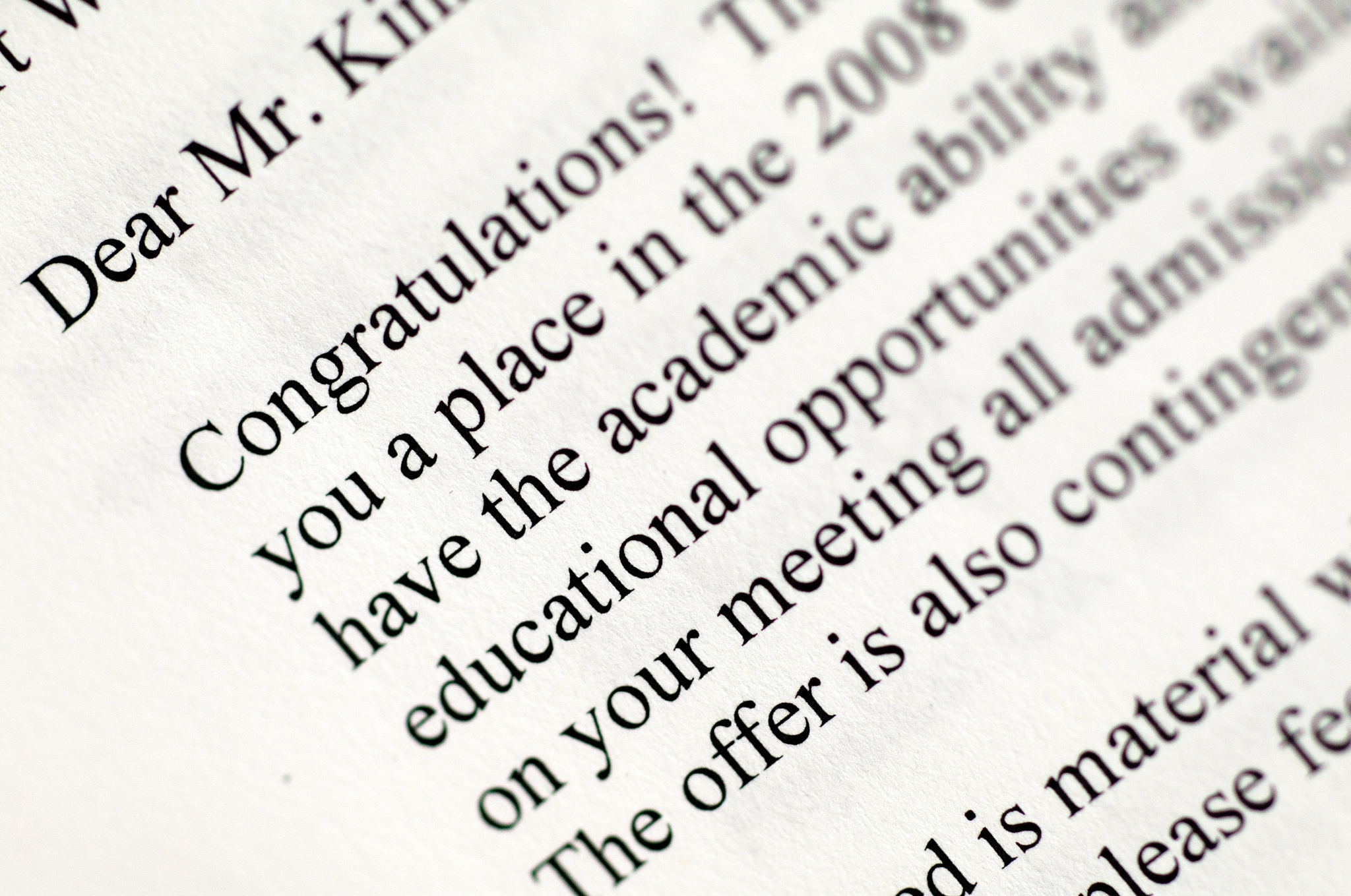 acceptance letter thefirstchild has been accepted to medical school