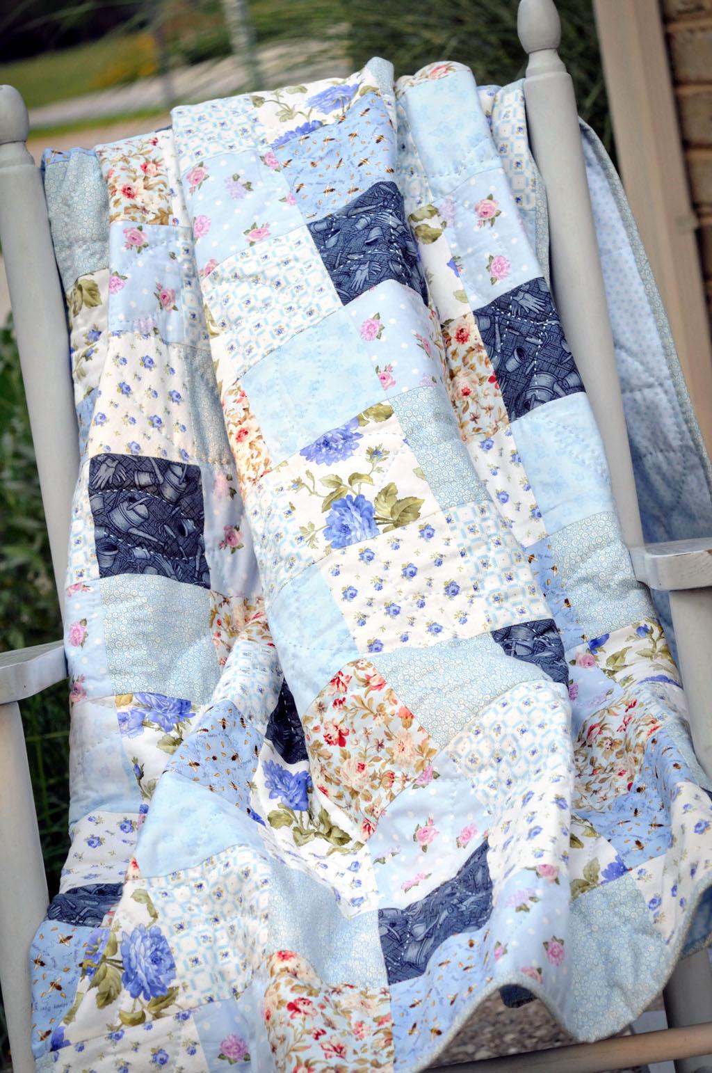 Bluebird Quilt