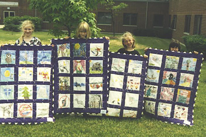 Second Grade Quilts