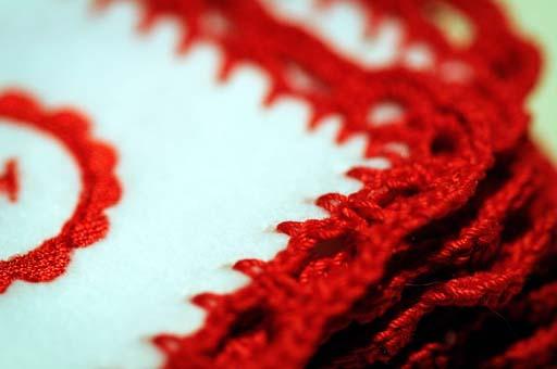 Red Crochet