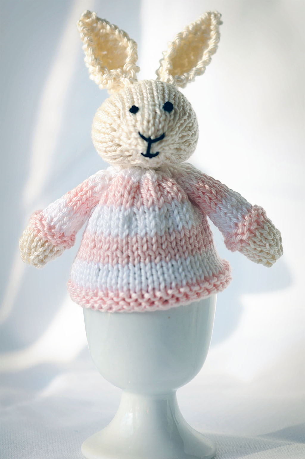 Knitting Pattern For A Bunny Egg Cosy : Little Cotton Rabbits Thimbleanna
