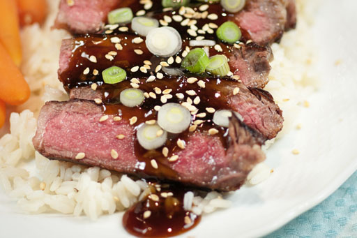 Teriyaki Steak1