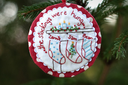 Aurifil Christmas Ornament