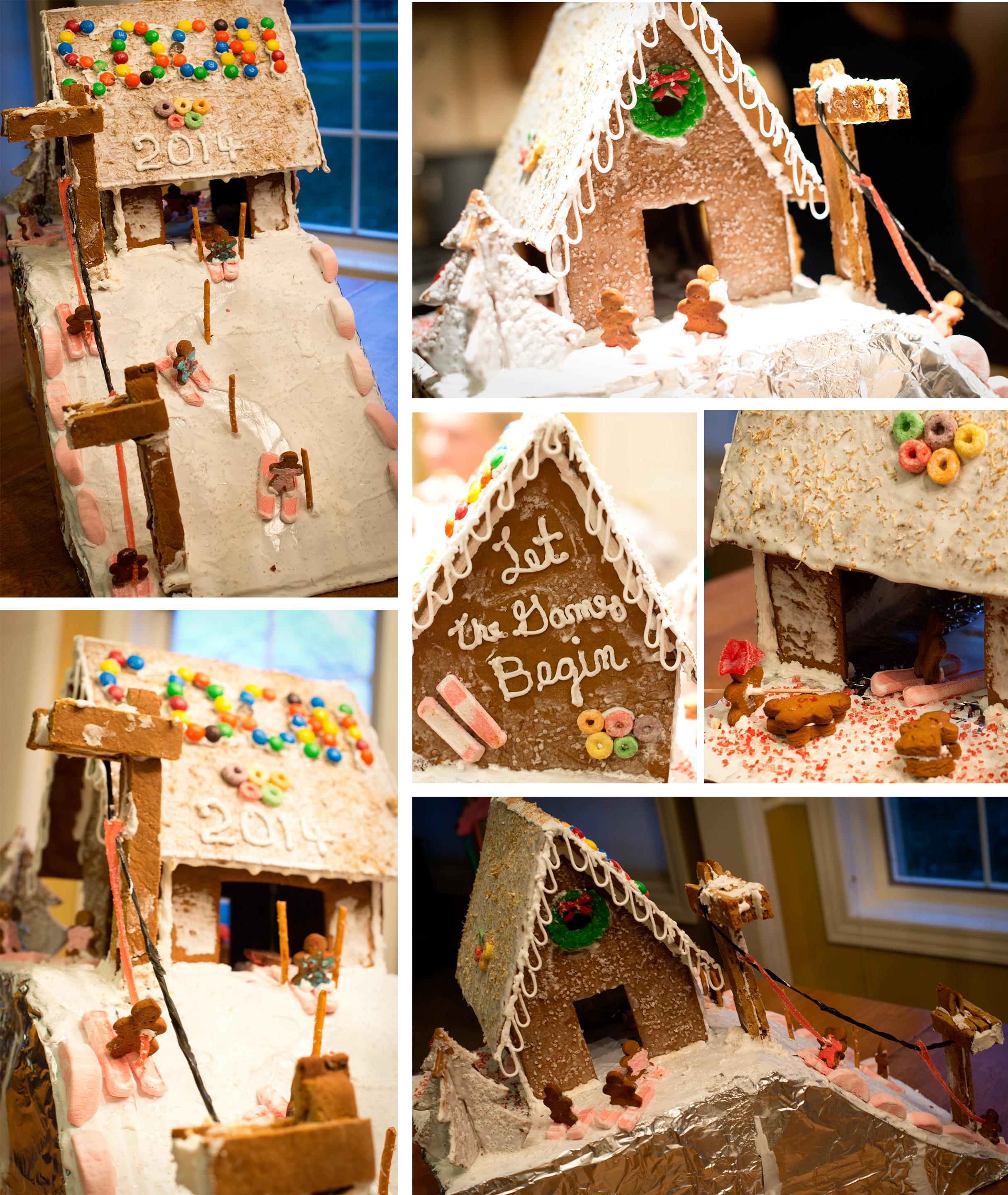 Thimbleanna: Gingerbread Houses