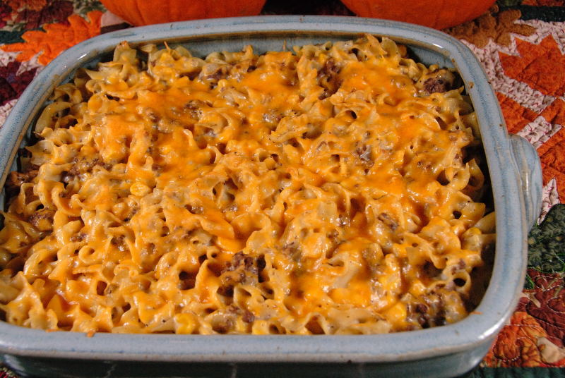 Hamburger Stroganoff Casserole Recipe — Dishmaps