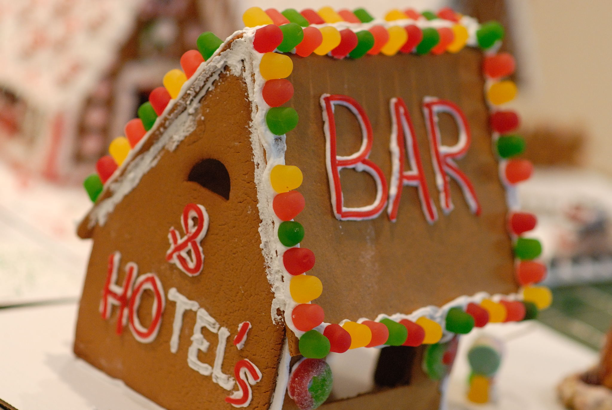 Gingerbread Bar