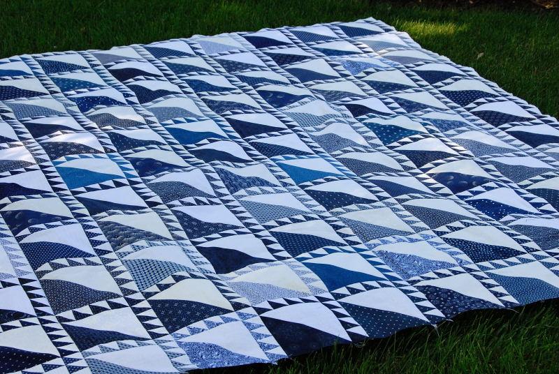 Blue and White Quilt Top : blue and white quilts - Adamdwight.com