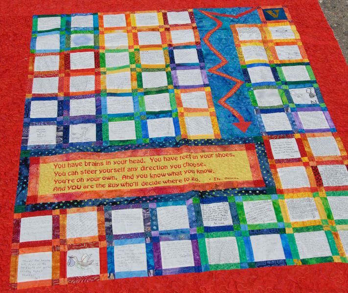 Quilt Patterns For College Students : Second Graduation Quilt